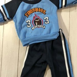 NWOT BOYS 3-6MO SWEATSHIRT/PANTS SET